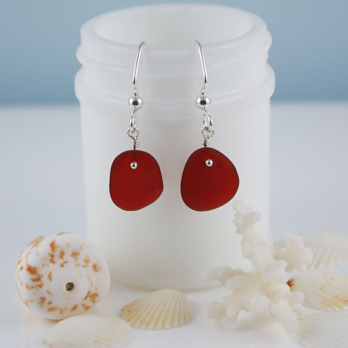 Custom Sea Glass Jewelry Designs