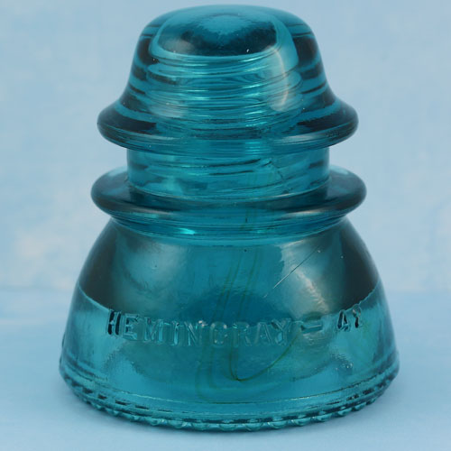 Love & The Sea Glass Electrical Insulator