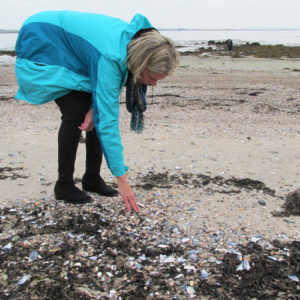 Jane McHenry, Searching for Sea Glass, Galway, Ireland