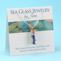 Mermaids' Tears Sea Glass Pendant