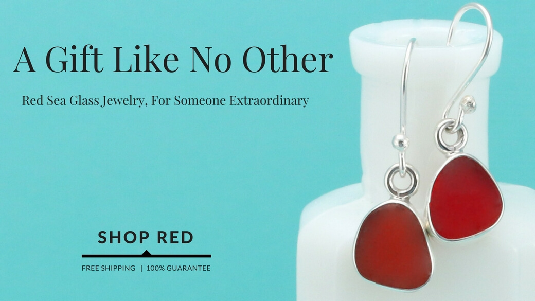 Shop Red Sea Glass Jewelry Gifts