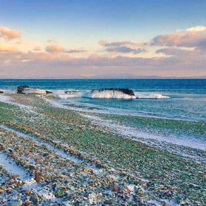 Russia Sea Glass Beach