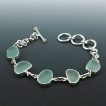 Splendid Sea Foam Sea Glass Bracelet