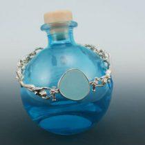 Sea Foam Green Sea Glass Mermaid Bracelet