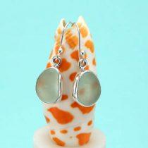 Stylish Sea Foam Sea Glass Earrings