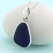 The Deep Blue Sea Glass Pendant