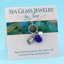 N908-Cobalt-Blue-Sea-Glass-Pendant-with-Crab-Charm