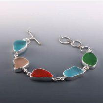 Rarest Colors Sea Glass Bracelet