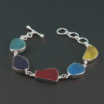 Rarest Colors Sea Glass Bracelet