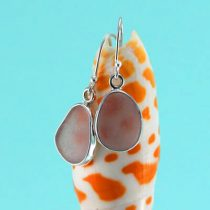 Luscious Lavender Sea Glass Earrings