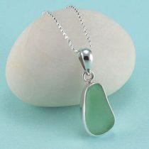 Peridot Sea Glass Sea Glass Pendant