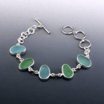 Watercolor Sea Glass Bracelet