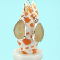 Yummy Yellow Sea Glass Earrings