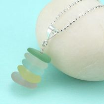 Perfect Sea Glass Stack Pendant