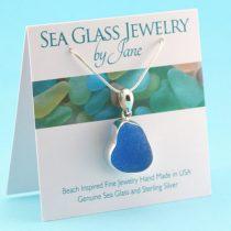 Bright-Turquoise-Sea-Glass-Pendant