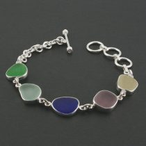 Pretty Colors Sea Glass Bracelet