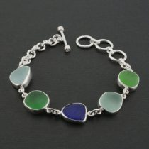 Colors Galore Sea Glass Bracelet