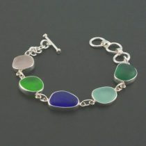 Wonderful Colors Sea Glass Bracelet