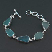 Terrific-Teal-Aqua-Sea-Glass-Bracelet