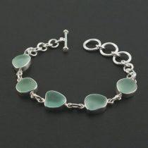 Sweet Sea Foam Sea Glass Bracele