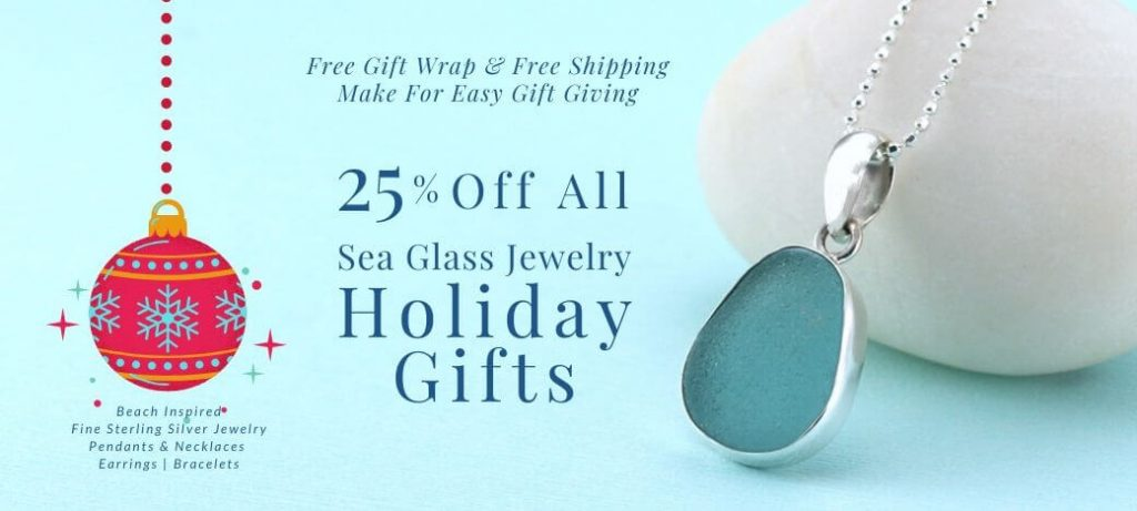 Sea Glass Jewelry by Jane 25% Off Holiday Sale
