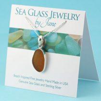 Amber-Sea-Glass-Pendant