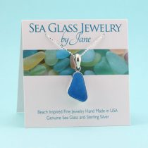 Stunning Turquoise Sea Glass Pendant