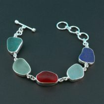 Colors Galore Sea Glass Bracelet