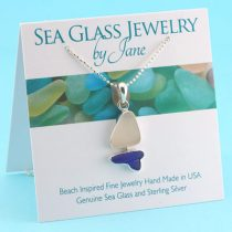 Sea-Glass-Sailboat-with-Blue-Hull
