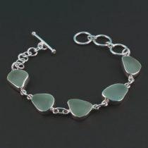 Sassy-Sea-Foam-Sea-Glass-Bracelet