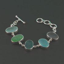 Wonderful Colors Sea Glass Bracelet