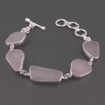 Lovely Lavender Sea Glass Bracelet